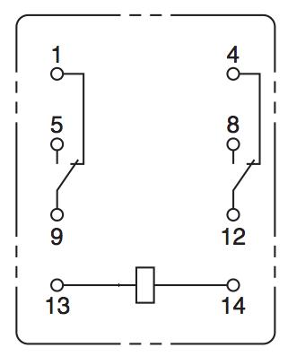 28 electromechanical devices dr stienecker s site rh drstienecker com 8 Pin Timer Relay Diagram 5 Pin Relay Diagram