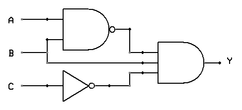 3 logic circuits boolean algebra and truth tables dr rh drstienecker com For Project Logic Gates Logic Circuit Diagram
